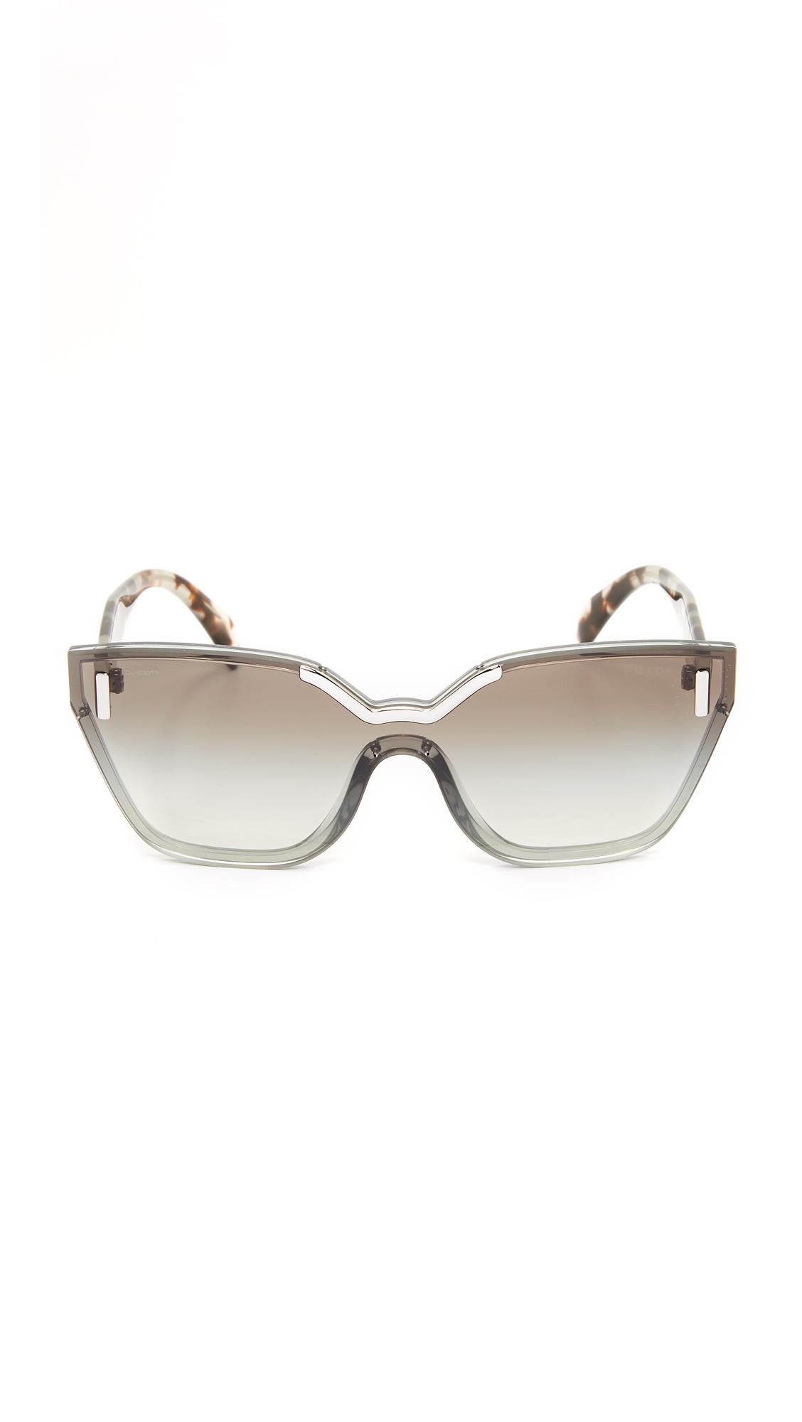 baa0048fbc Prada Hide Catwalk Sunglasses | SHOPBOP