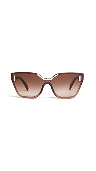 Prada Hide Catwalk Sunglasses at Shopbop