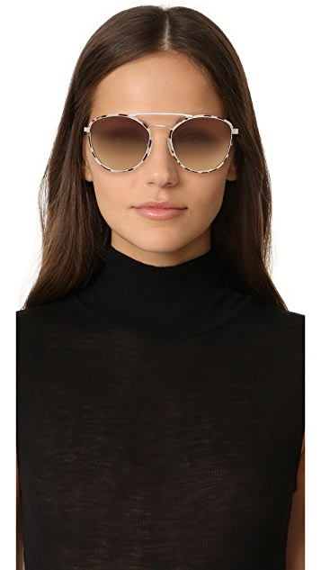 Prada Cinema Aviator Sunglasses