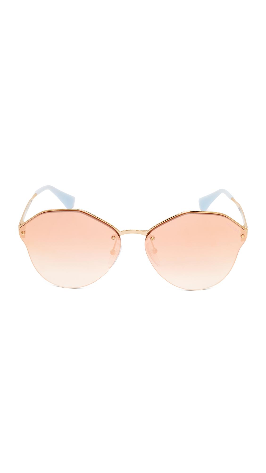 09bc32e33ee5 Prada Cinema Oval Sunglasses   SHOPBOP
