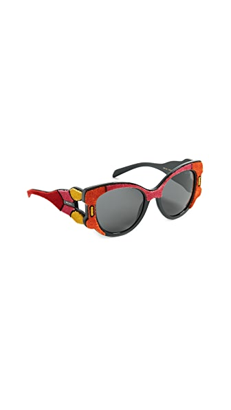 Prada Velvet Sunglasses at Shopbop