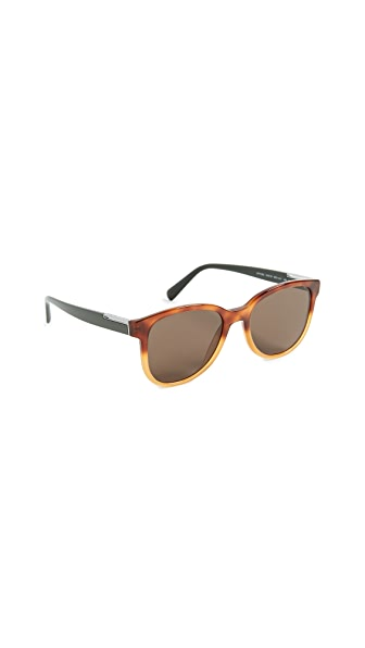 Prada Plaque Sunglasses at Shopbop