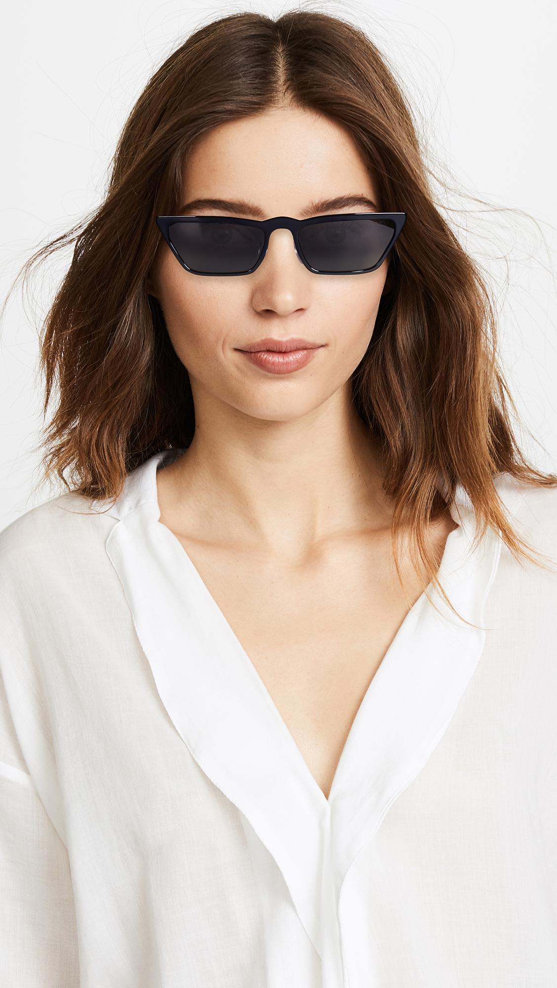 9bb008506c7 Prada PR19US Ultravox Skinny Narrow Sunglasses