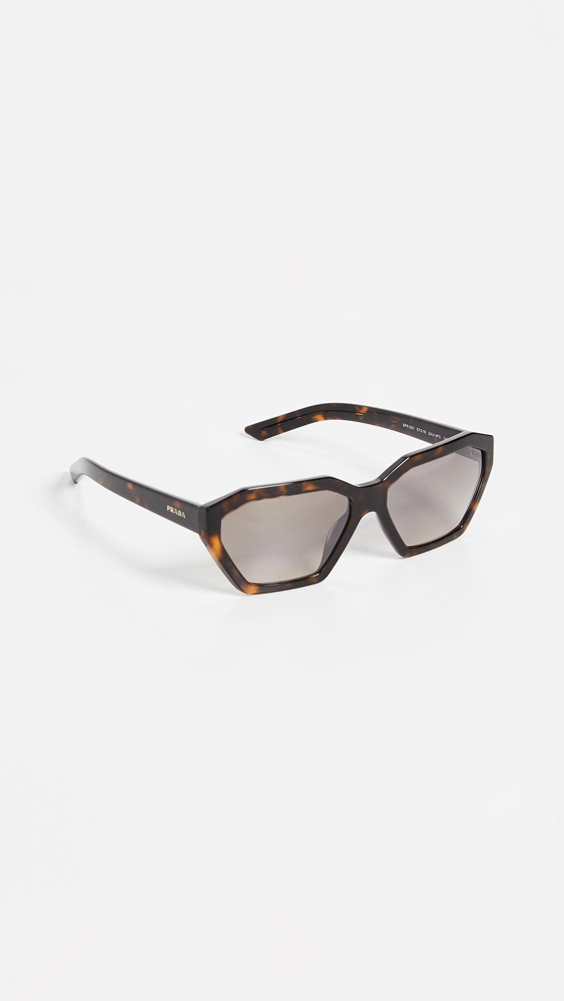 67db849c12b0a Prada PR 03VS Millennial Geometric Sunglasses