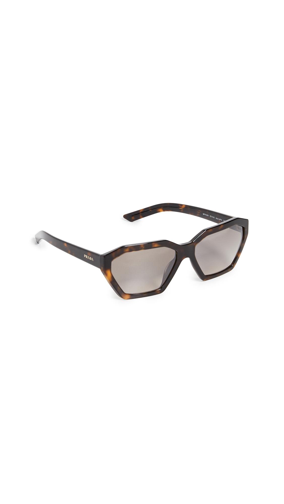 0689aa83ade1 Prada PR 03VS Millennial Geometric Sunglasses | SHOPBOP