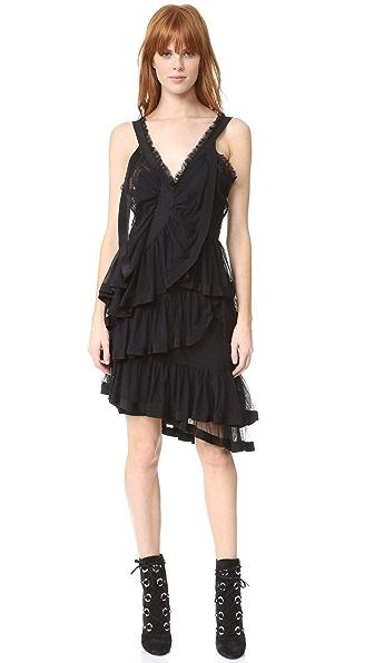 Preen By Thornton Bregazzi Zetta Dress - Black