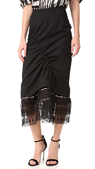 Preen By Thornton Bregazzi Owen Lace Skirt