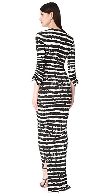 Preen By Thornton Bregazzi Philomena Long Dress