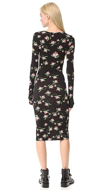 Preen By Thornton Bregazzi Myra Daffodil Dress