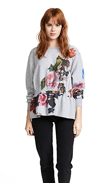 Preen By Thornton Bregazzi Ira Sweatshirt In Bouquet