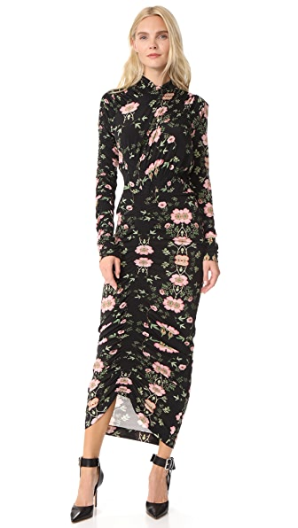 Preen By Thornton Bregazzi Amaryris Dress - Wild Rose