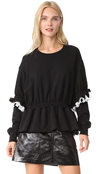 Preen By Thornton Bregazzi Jude Sweatshirt - Black