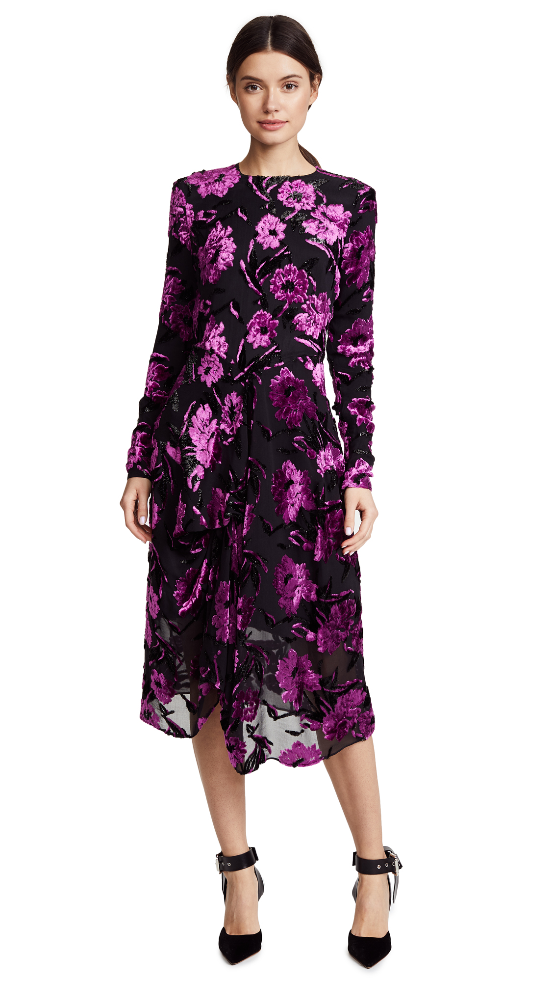 Preen By Thornton Bregazzi Alyssa Dress with Black Silk Slip