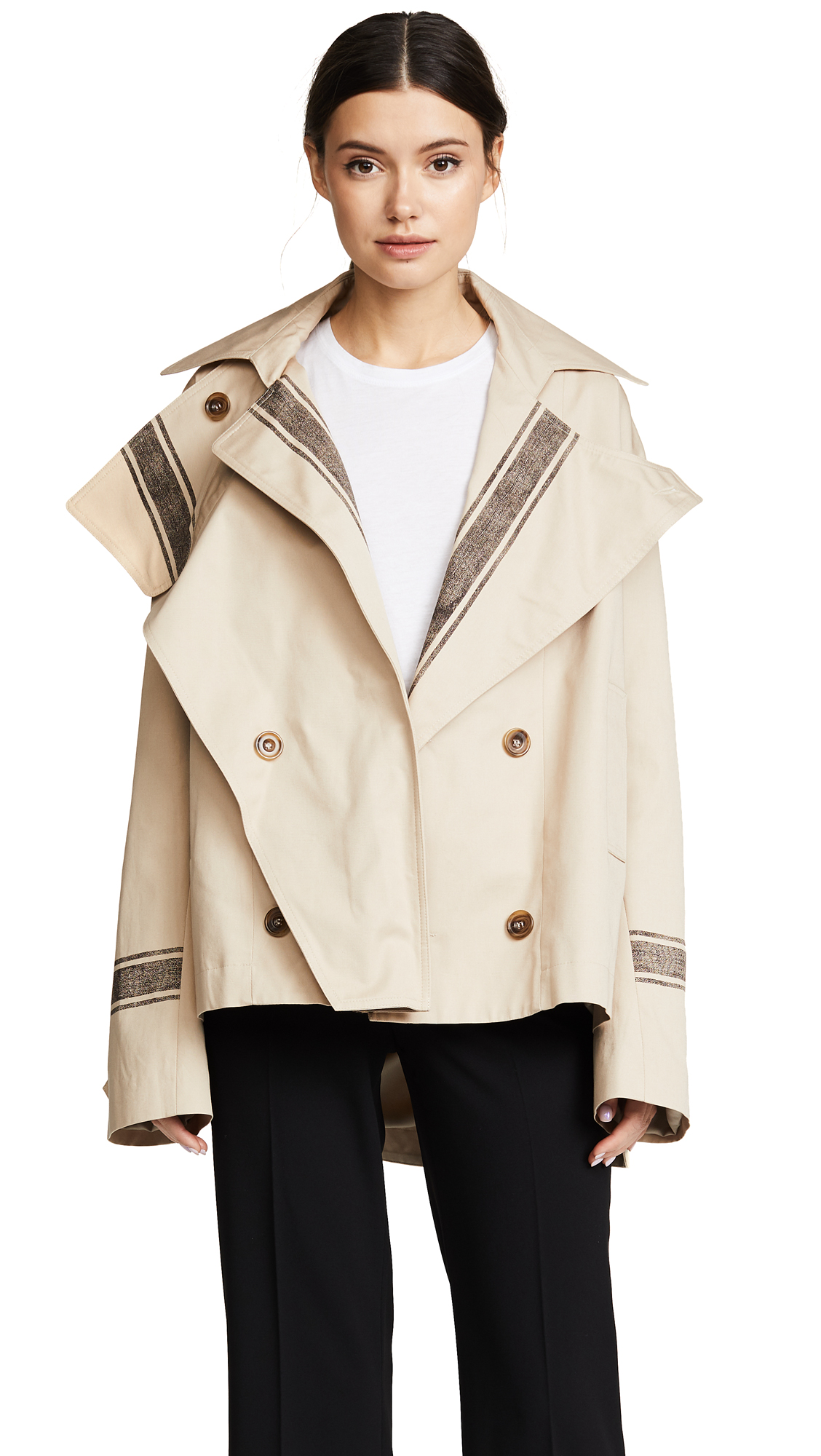 Preen By Thornton Bregazzi Yolanda Mac Coat