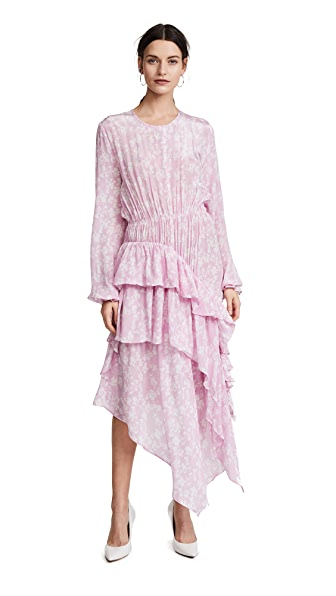 Preen By Thornton Bregazzi Preen Line Eden Ruffle Dress