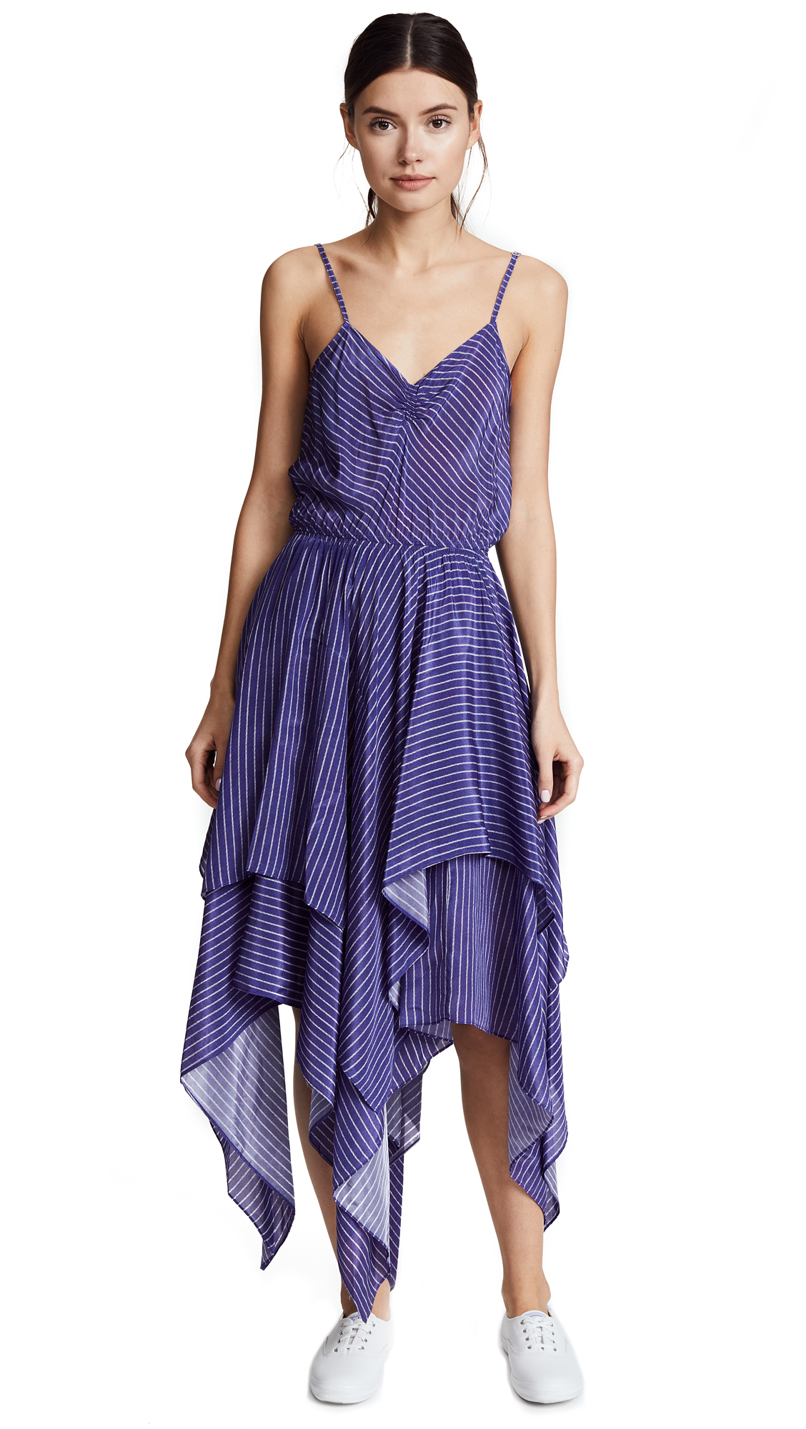 Preen By Thornton Bregazzi Preen Line Myla Striped Dress