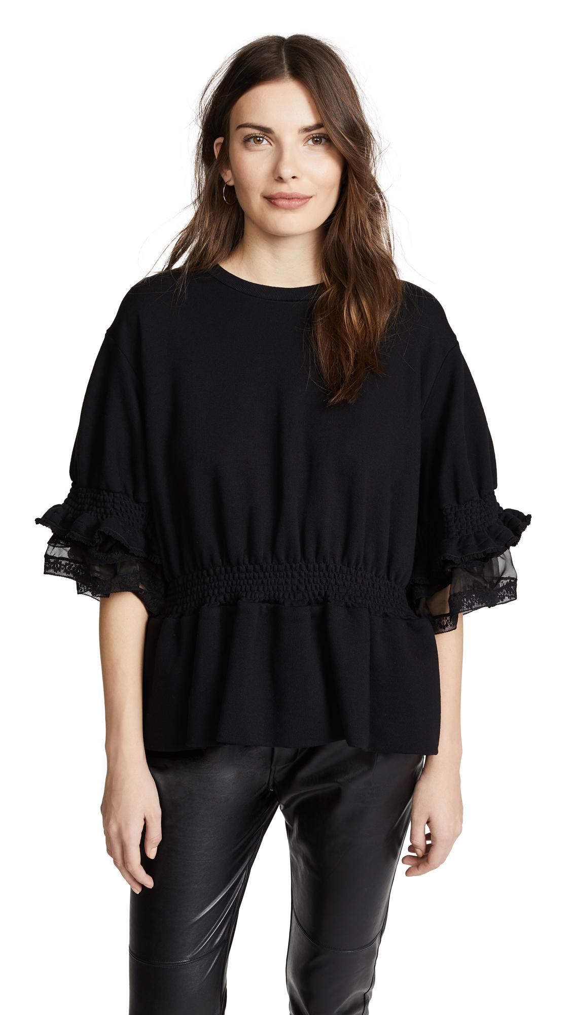 Preen By Thornton Bregazzi Scarlet Sweatshirt