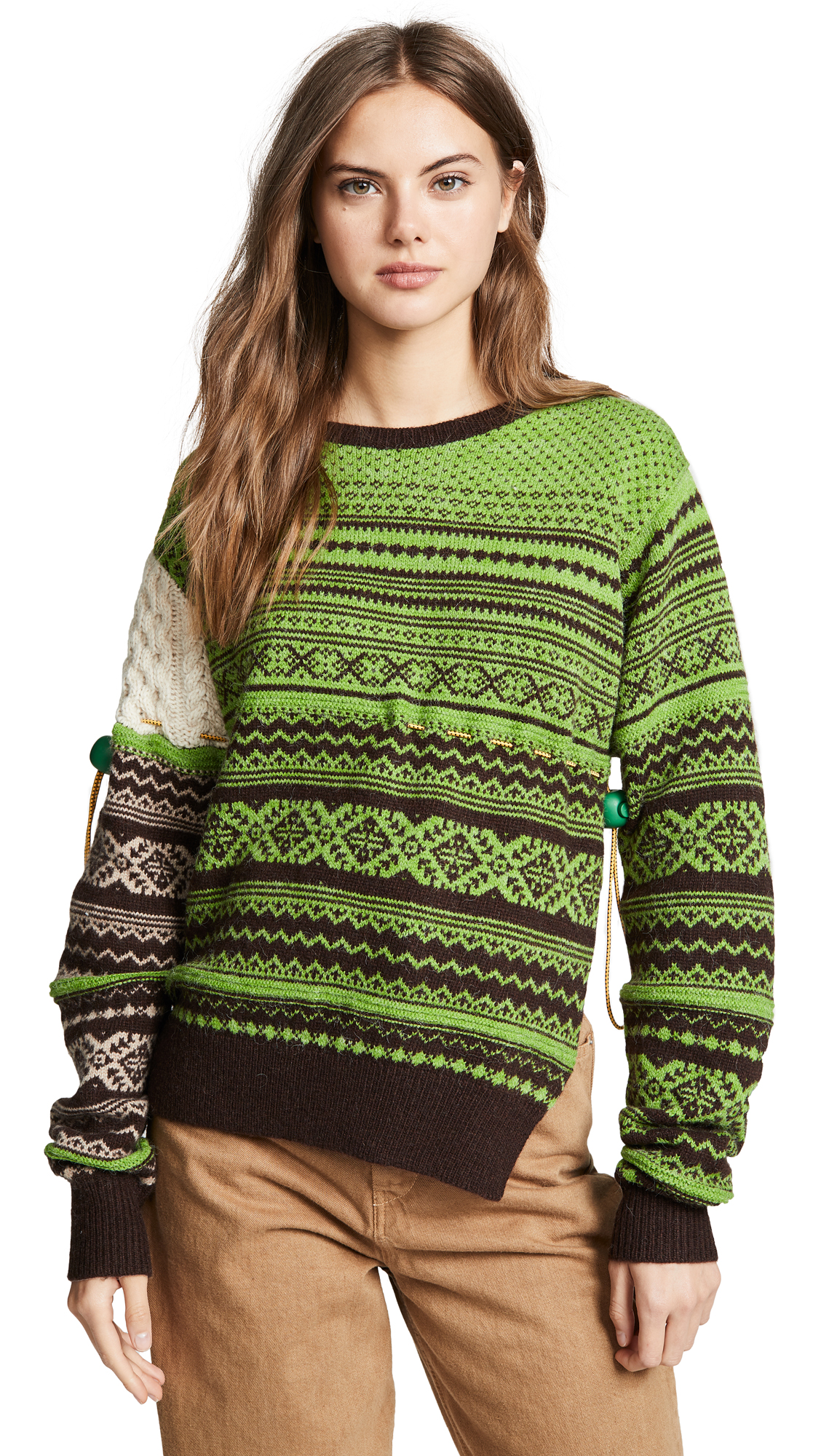 Preen By Thornton Bregazzi Moira Knit In Green