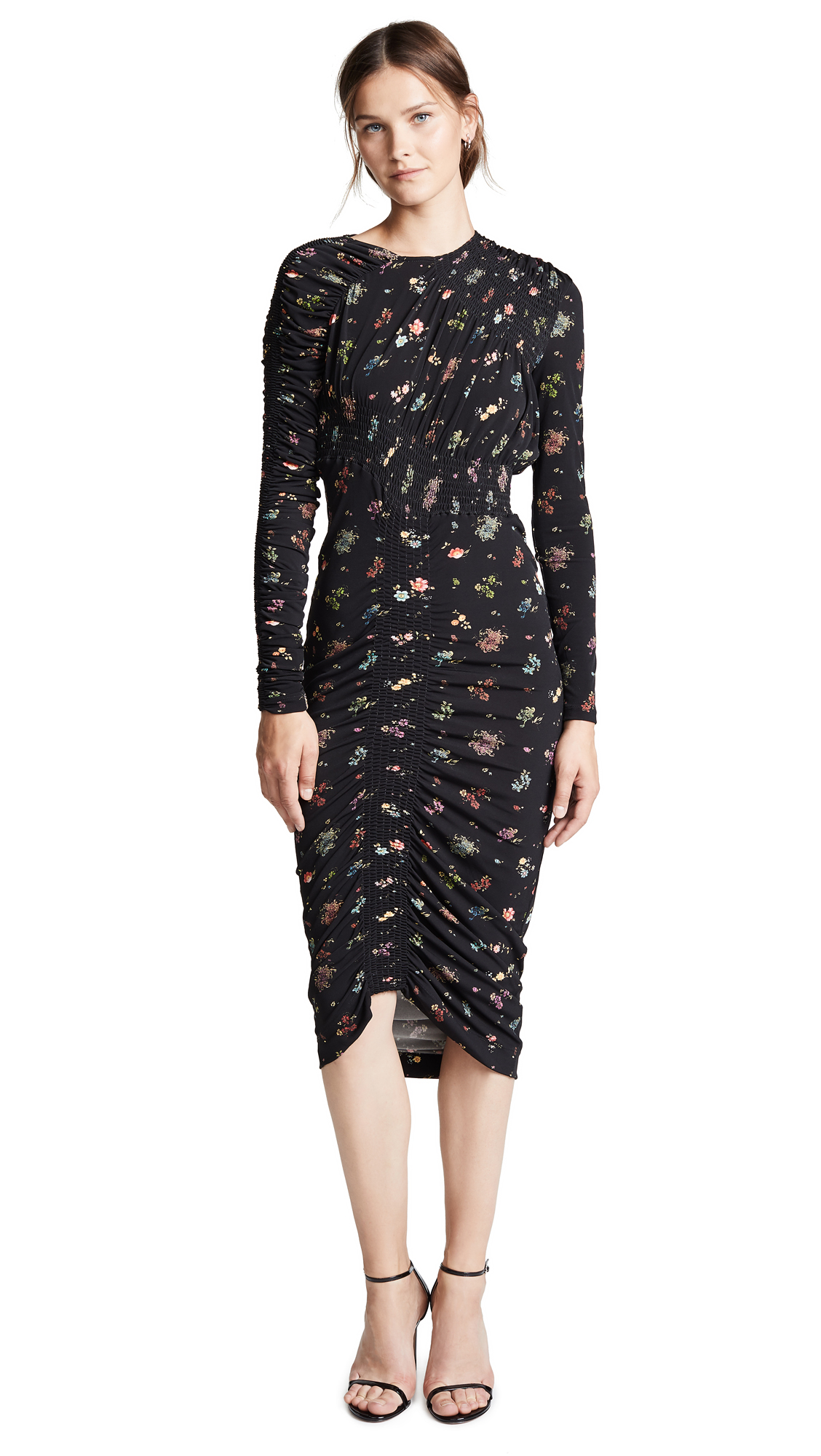 Preen By Thornton Bregazzi Rene Dress In Floral