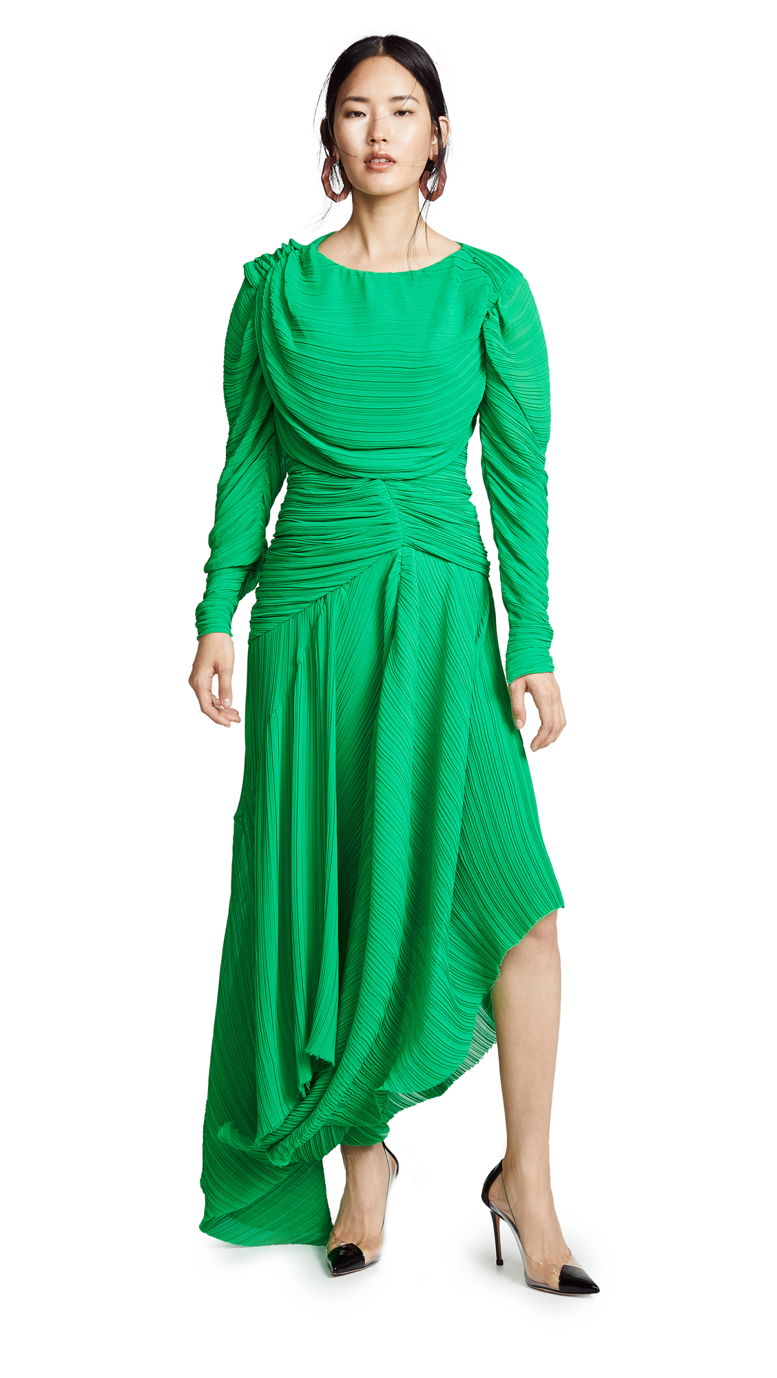 Preen By Thornton Bregazzi Kitty Dress In Green