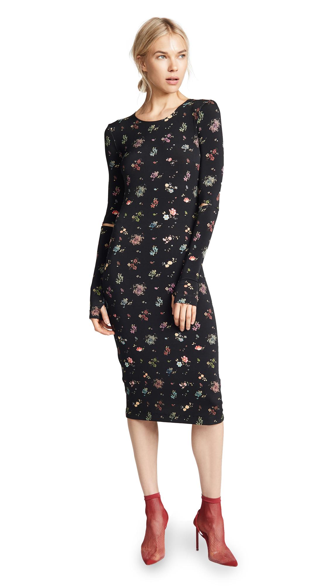 Preen By Thornton Bregazzi Sophie Dress - Black Floral