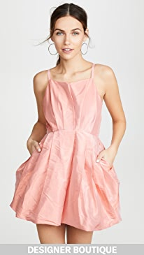 b423e8b21c4 Preen By Thornton Bregazzi. Floretta Taffeta Dress