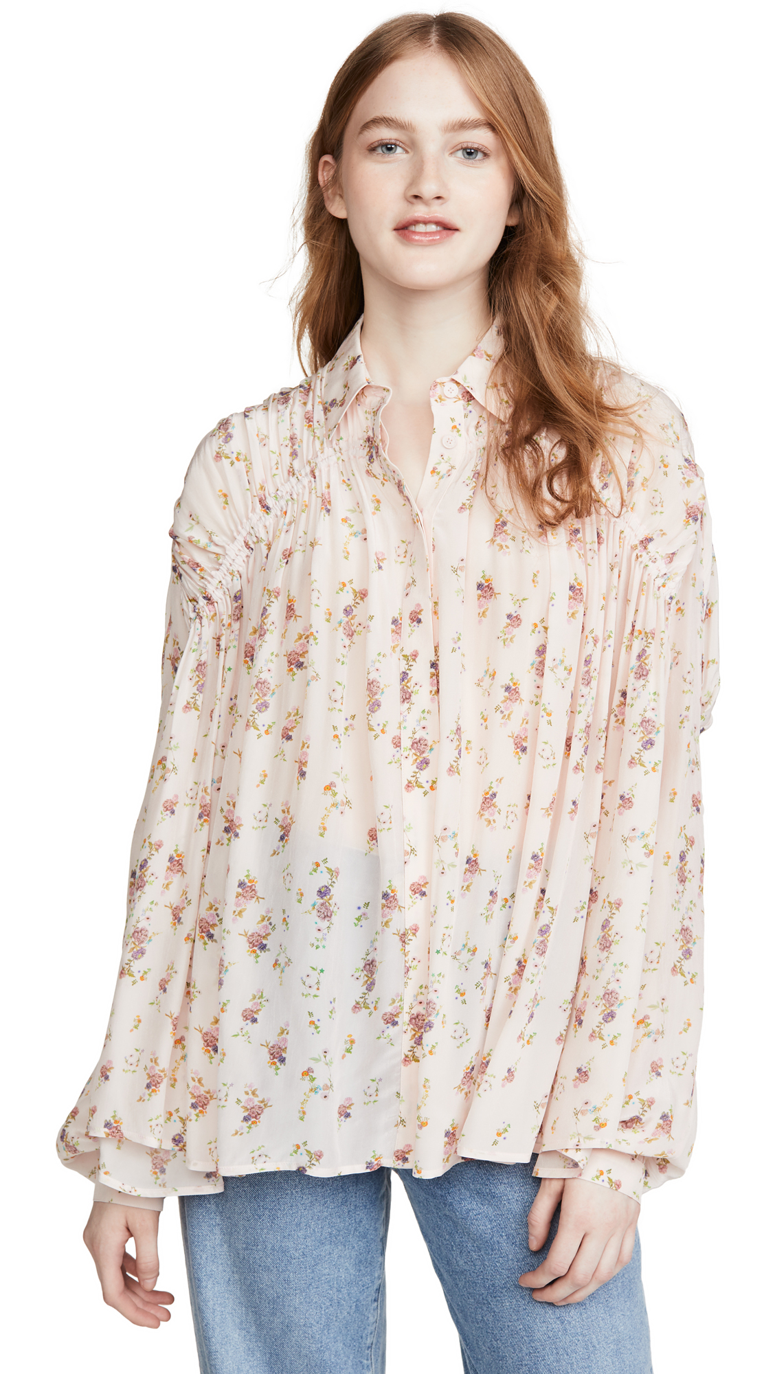 Photo of Preen By Thornton Bregazzi Preen Line Winni Blouse - shop Preen By Thornton Bregazzi Tops, Blouses online