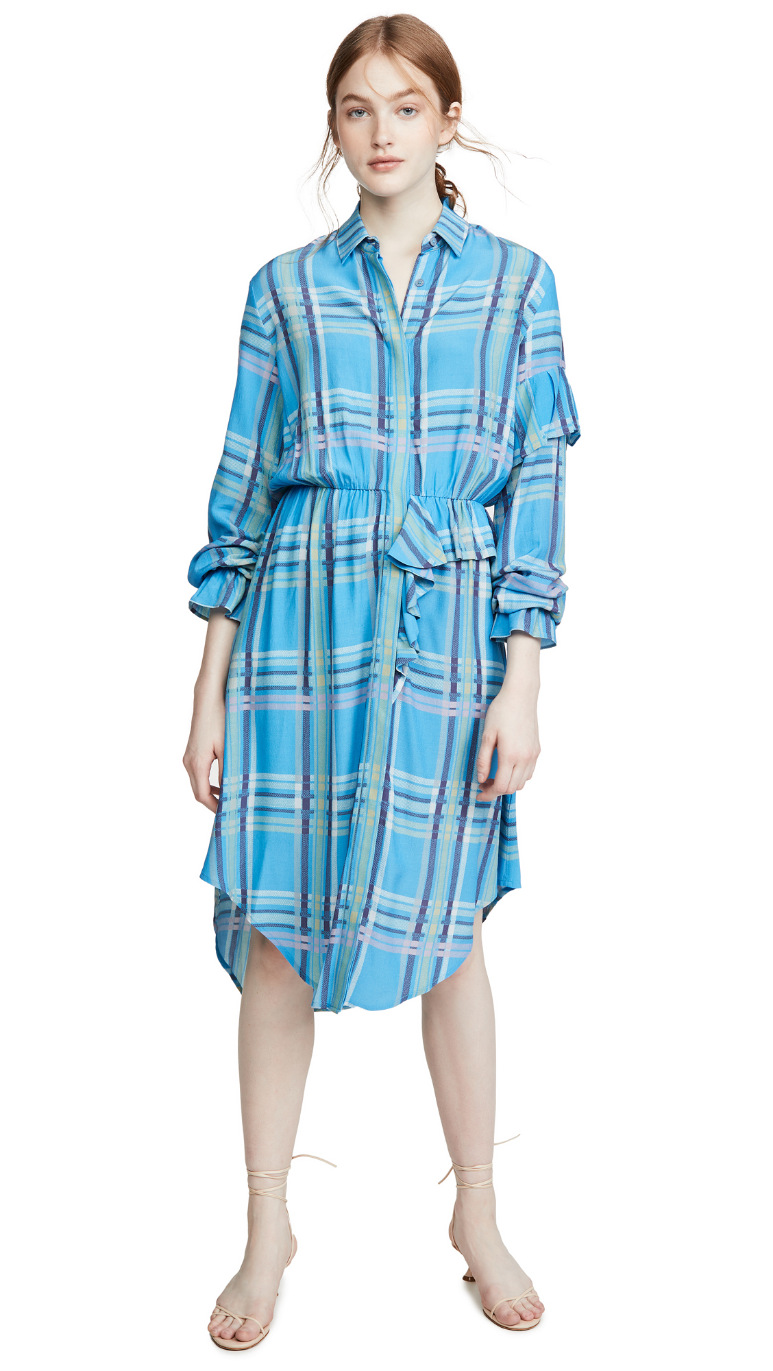 Preen By Thornton Bregazzi Preen Line Primrose Shirtdress - 60% Off Sale