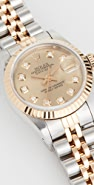 Pre-Owned Rolex Ladies Rolex Champagne Diamond Dial, Fluted Bezel, Oyster Band