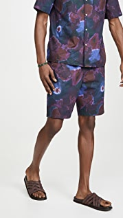 President's Berm Newtripoli Psycho Flower Popeline Shorts