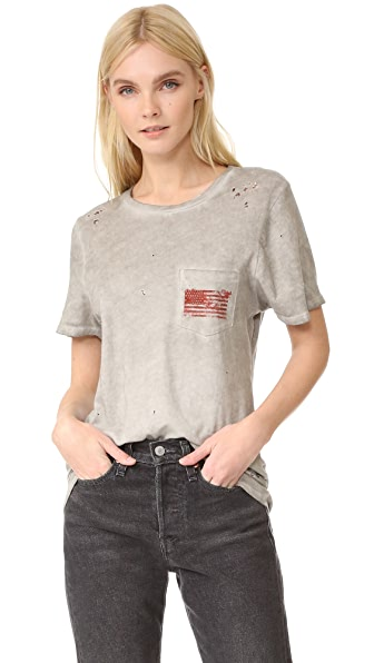 Prince Peter American Flag Pocket Tee