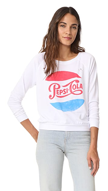 Prince Peter Pepsi Distressed Pullover