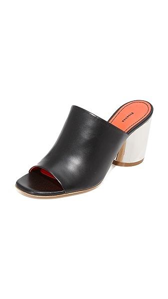 Proenza Schouler Block Heel Mules