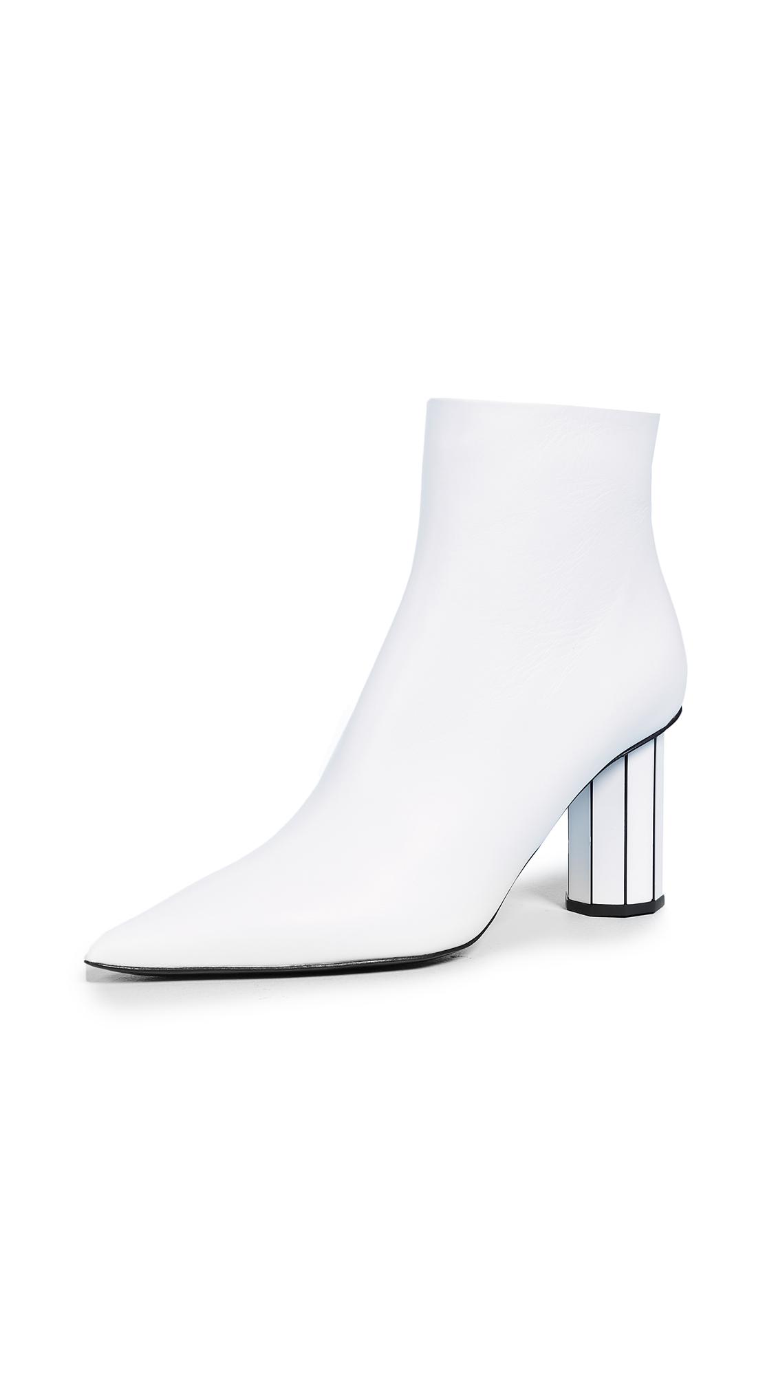 Proenza Schouler Booties with Mirror Heels