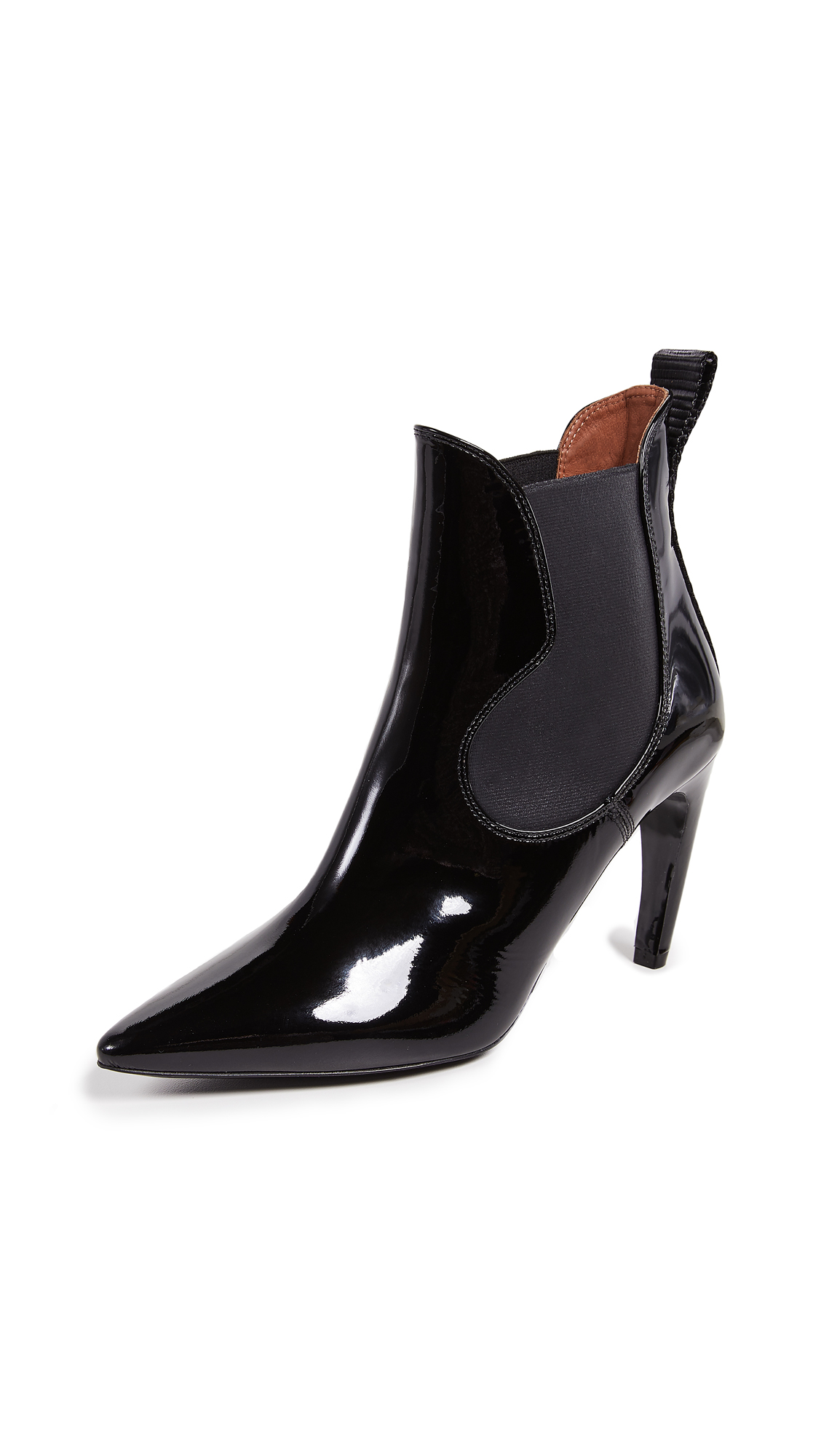 Proenza Schouler Chelsea High Heel Booties - Black