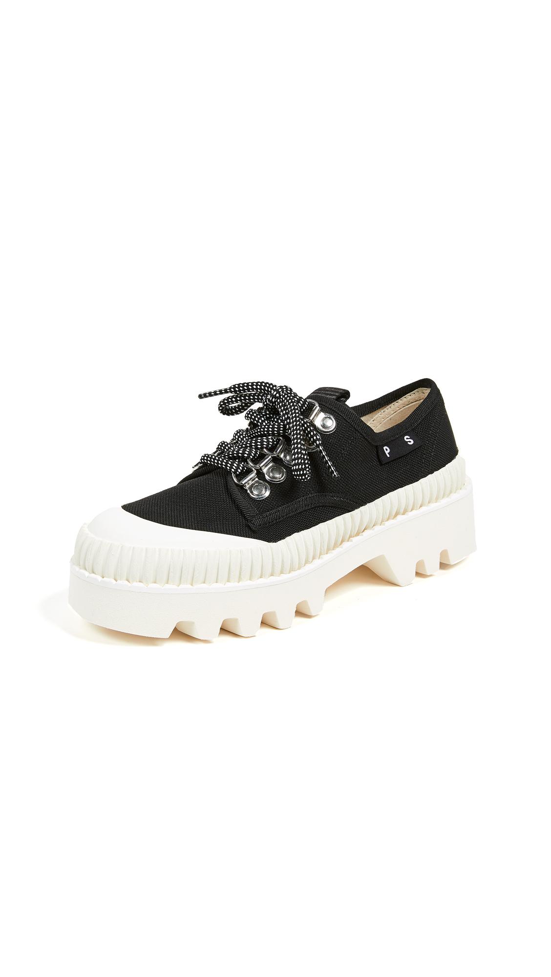 Proenza Schouler Platform Sneakers - Black/White