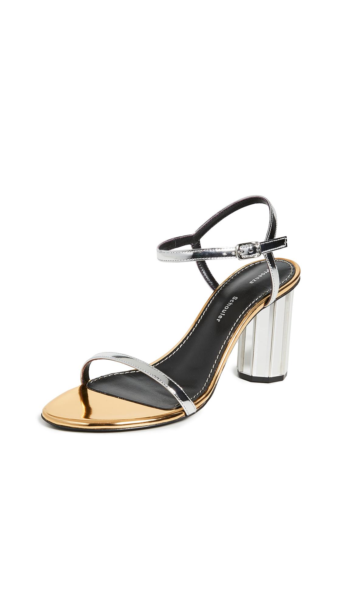 Buy Proenza Schouler online - photo of Proenza Schouler Metallic Sandals