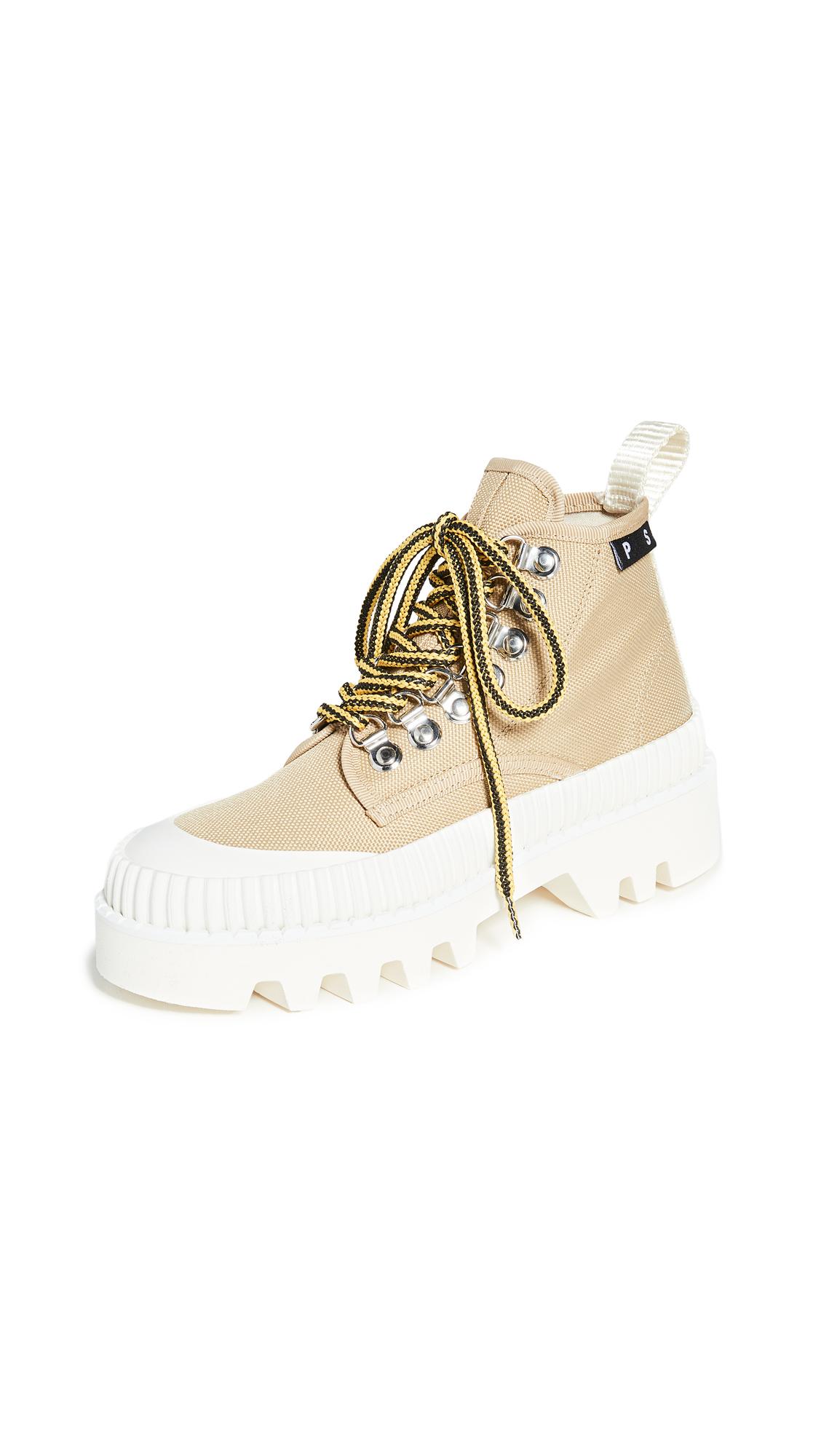 Buy Proenza Schouler online - photo of Proenza Schouler Lace Up Hiker Boots