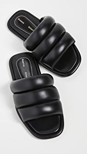 Proenza Schouler Flat Slide Sandals
