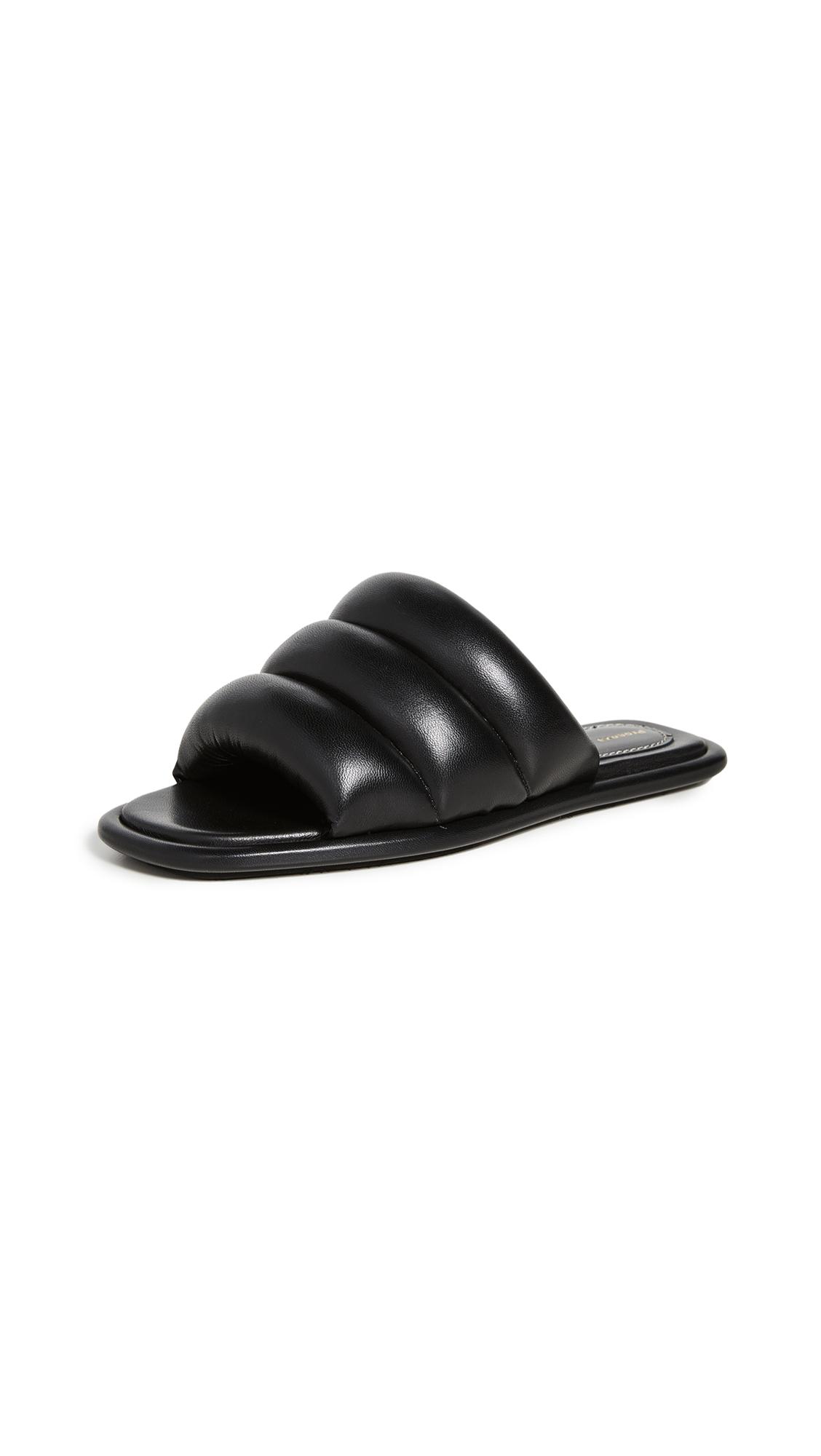 Buy Proenza Schouler Flat Slide Sandals online, shop Proenza Schouler