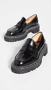 Proenza Schouler 沟纹鞋底乐福鞋