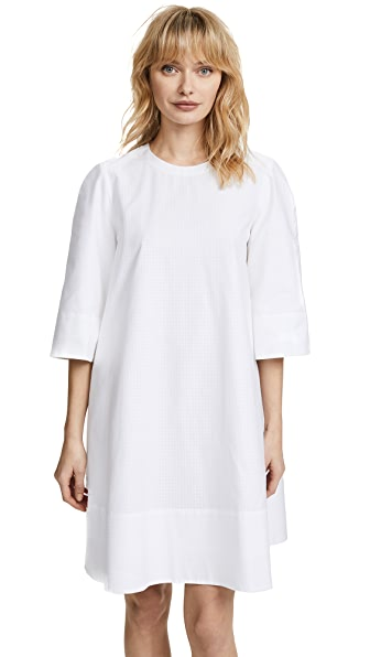Protagonist Swing Tunic Dress In White