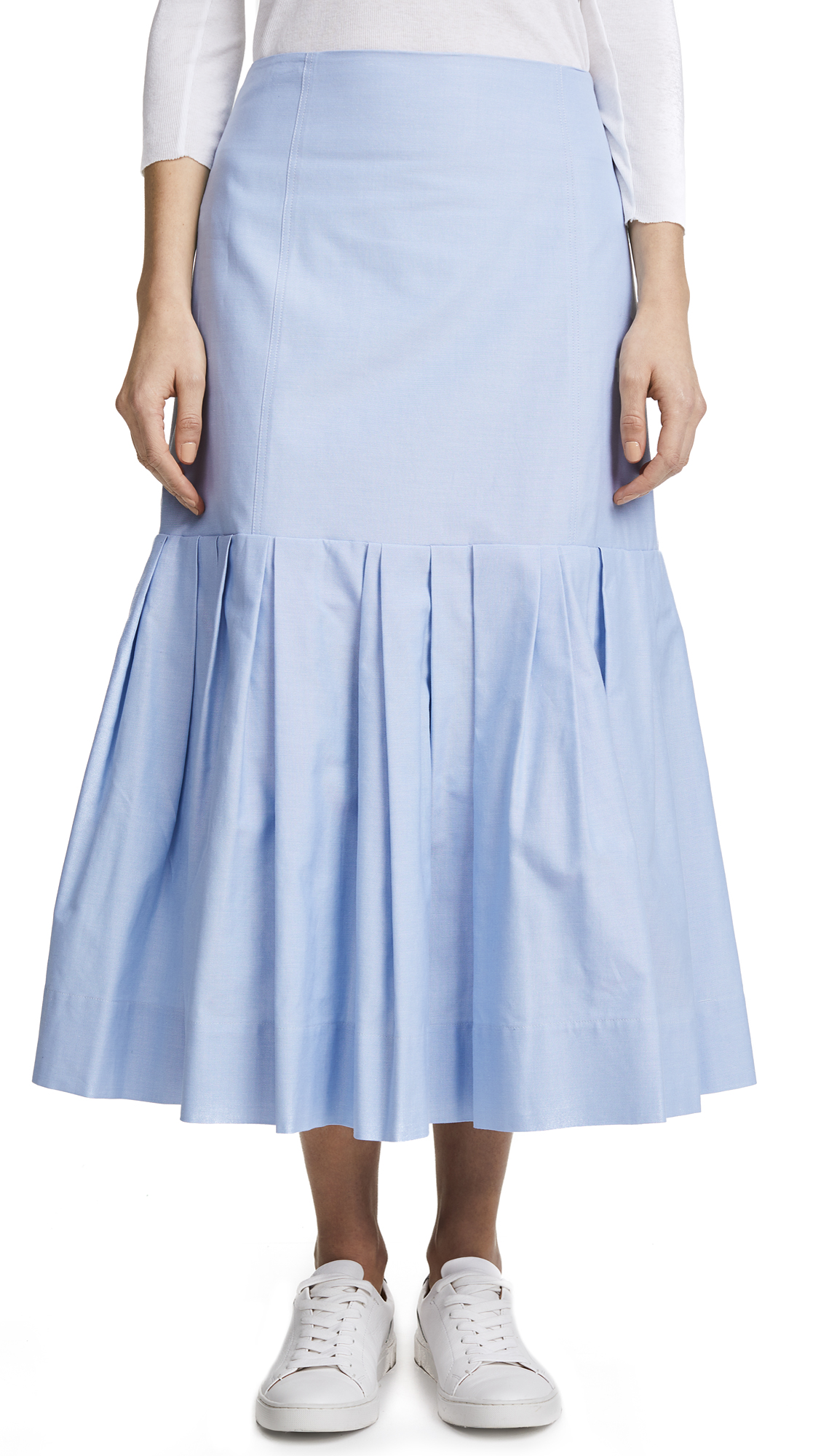 Protagonist Pleated Hem Skirt