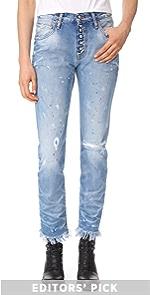 El Camino Tapered Boyfriend Jeans PRPS