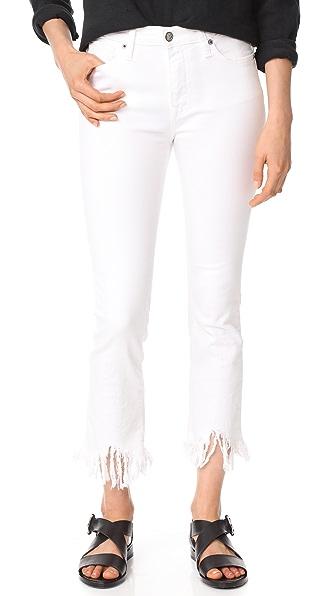 PRPS Biscayne Capri Jeans In White
