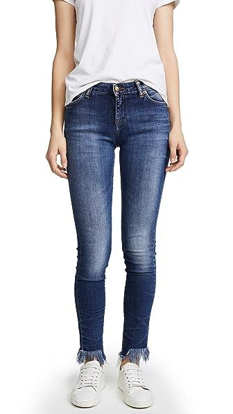Camaro Step Hem Skinny Jeans