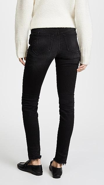 PRPS Camaro Mid Rise Skinny Jeans