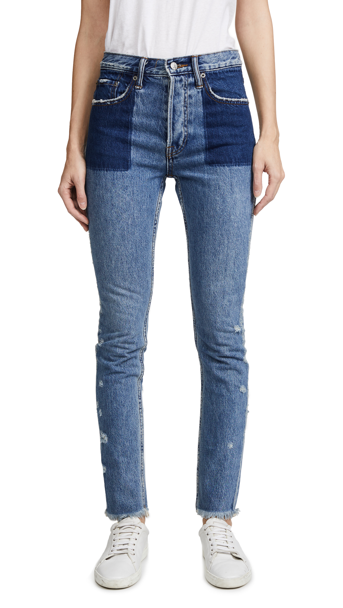 PRPS Amx Jeans with Reverse Tone Pockets