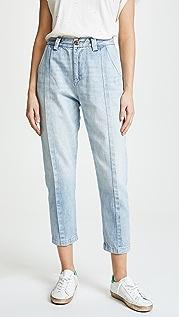 PRPS Astro 褶饰休闲牛仔裤