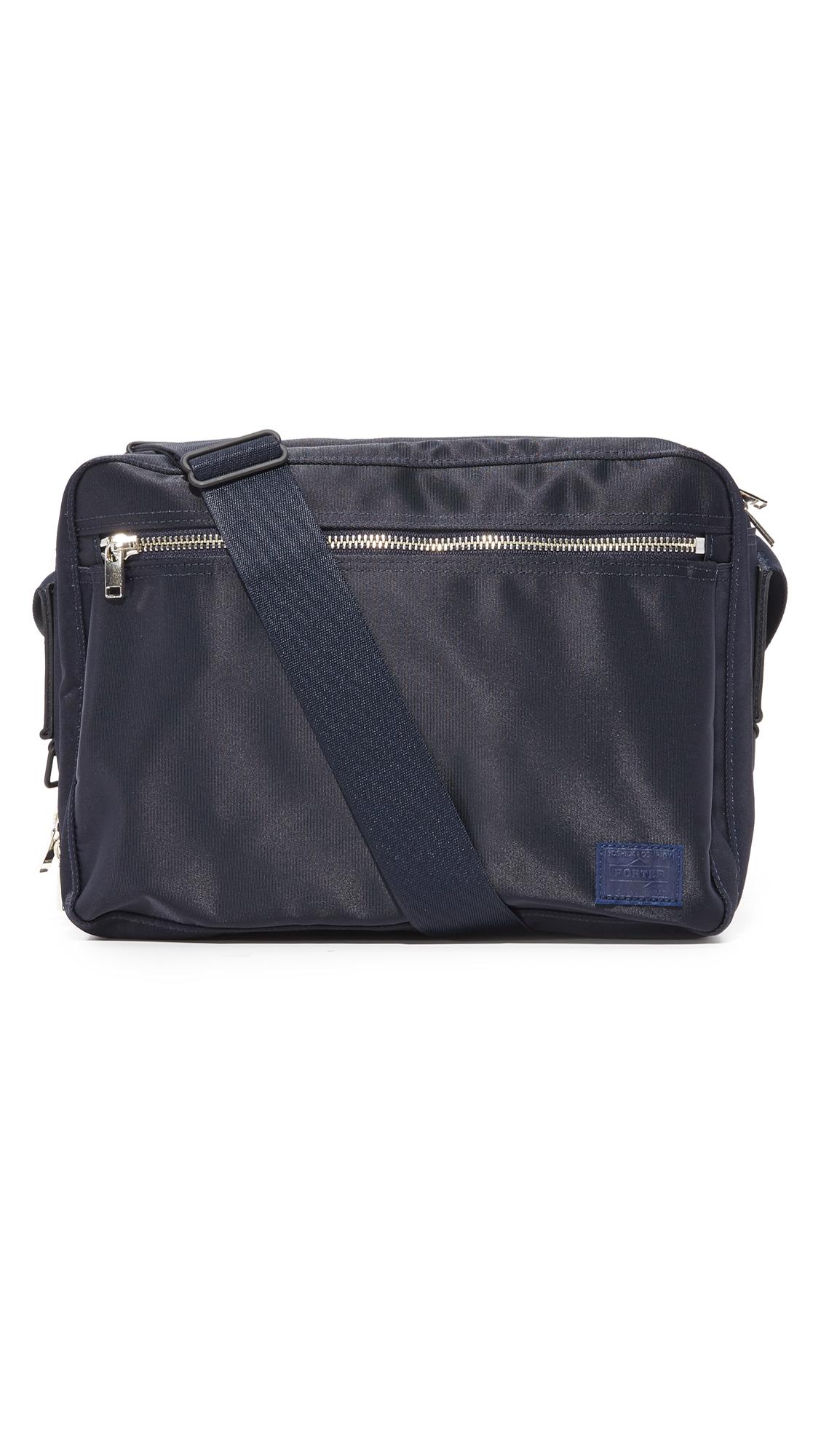 PORTER Lift Shoulder Bag in Navy